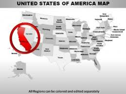 powerpoint us states maps template us presentation slides u0026 ppt