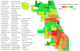 chicago map side chicago crime all the statistics you don t want to be
