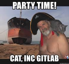 Neckbeard Meme - party time cat inc gitlab the return of neckbeard meme generator
