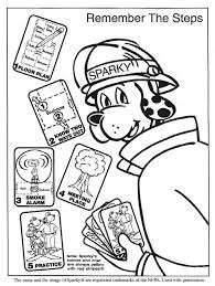 sparky the fire dog coloring pages funycoloring