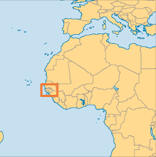Madagascar On World Map by The Gambia Operation World