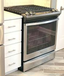 Slide In Gas Cooktop Drop In Gas Range With Electric Oven Kitchens Drop In Oven Range