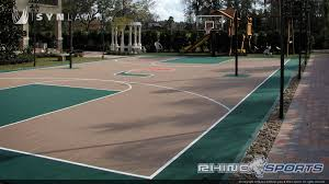 multi sport backyard court system synlawn photo gallery