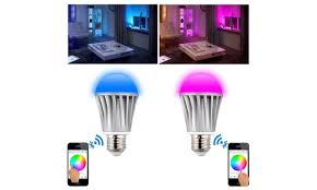 11 off on bluetooth smart led light bulb groupon goods