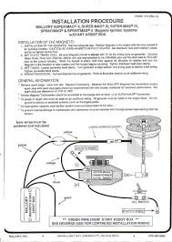 mallory mago wiring diagram diagram wiring diagrams for diy car