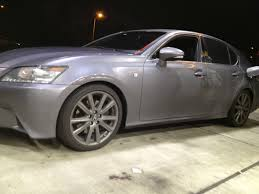 lexus gs 350 awd 2013 gs 350 awd fsport lowered on tanabe nf210 clublexus lexus