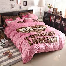 Victorias Secret Pink Comforter Pink Leopard Comforter Beautiful Pink Decoration