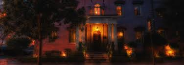 the ghosts of the pink house restaurant in savannah ga