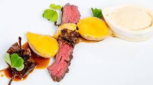 la cuisine sous vide sous vide albers bavette steak with braised onions fusionchef by