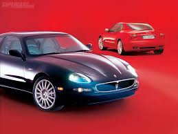 red maserati spyder 2002 2006 maserati coupé gt review supercars net
