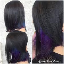 dye bottom hair tips still in style best 25 purple underneath hair ideas on pinterest dye