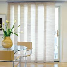 Best Blinds For Patio Doors Panel Track Blinds For The Balcony Door Would Be Smart To