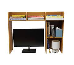 Computer Hutch Desks With Doors Classic Desk Bookshelf Organizer Storage College