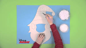 art attack christmas elf mask disney junior uk youtube