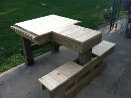 Make Your Own Picnic Table Bench by Best 25 Shooting Bench Ideas On Pinterest Shooting Table