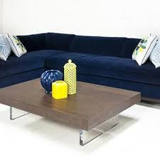 Navy Sectional Sofa Decker 2 Blue Velvet Sectional Sofa