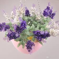 hanging flower pot chain plastic planter basket garden flexible