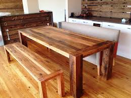 Best Reclaimed Wood Dining Table Design Ideas - Best wood for kitchen table