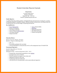 5 internship resume templates emt resume