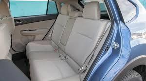 subaru crosstrek interior back 2014 subaru xv crosstrek hybrid drive review autoweek