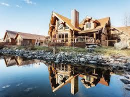 river crest cabin luxury log home hottub vrbo