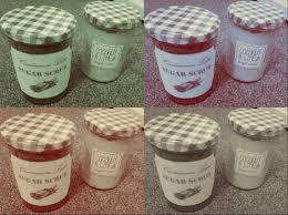 diy natural and delicious sugar body scrubs and printable label