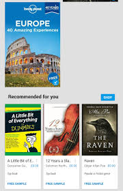 google play books for android download