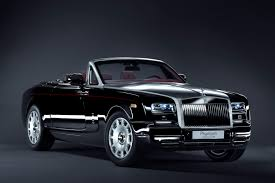 roll royce black 1 12 rolls royce phantom drophead coupe series 2 diamond black