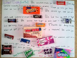 candy for birthdays poster birthday card ideas 50th birthday poster made with candy bars