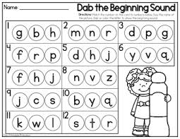 dab of learning freebie 2 activities beginning sounds and cvc words