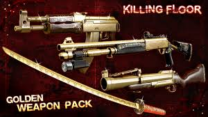twisted christmas 3 golden weapons pack dlc image killing floor