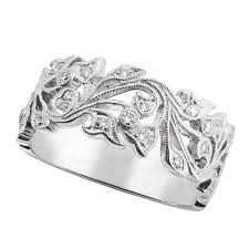 ben bridge wedding bands floral diamond band 14k ben bridge jeweler