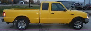 Yellow Ford Ranger Truck - 2000 ford ranger xlt pickup truck item d4735 sold wedne