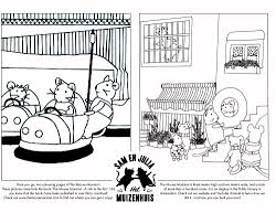 free colouring pages u2014 the mouse mansion