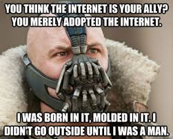 What Is Internet Meme - bane internet meme therealblogsquad