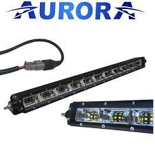 20 single row led light bar aurora 20 single row 5w led light bar 20 x 5w oslon scene 120 deg