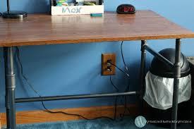 Diy Pipe Desk Diy Industrial Pipe Desk Shelves My Husband Has Many Hobbies