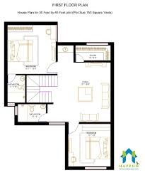 floor plan for 1 bhk floor plan for 30 x 45 feet plot 1350 square feet