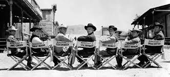 on the set of the magnificent seven 1960 oldschoolcool