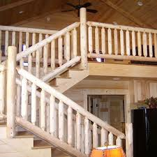 Stair Banisters And Railings Log Railings