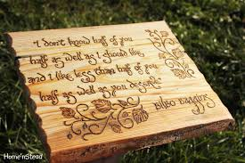 gifts for lord of the rings fans bilbo baggins quote hobbit saying wall hanging the hobbit fan