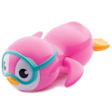 halloween wind up toys amazon com munchkin wind up swimming penguin bath toy pink baby