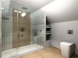 Glass Wall Doors by Bathroom Fascinating Bathroom Design With Glass Wall Walk In