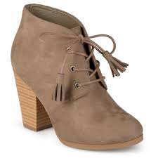s lace up boots target s journee collection wen faux suede lace up booties target
