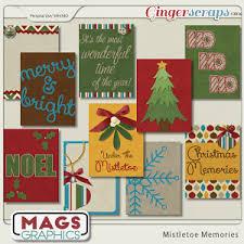 mistletoe memories kit