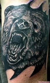 grizzly bear tattoos tattoo viewer com