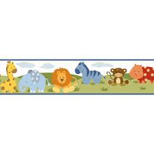 safari cartoon chesapeake simba jungle safari cartoons wallpaper border bbc94181b