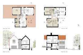 contemporary floor plans for new homes modern green modern house