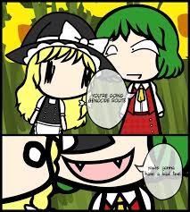 Bad Time Meme - yuuka whisper meme bad time by kiwi612 on deviantart