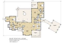 mountain lodge floor plans blue mountain timber frame floor plan by mill creek